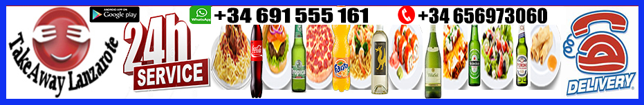 Restaurants Takeaway Lanzarote